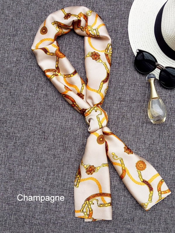 2 Color Option, Printed Scarf
