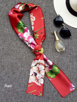 5 Color Options,  Blossom Print Scarf