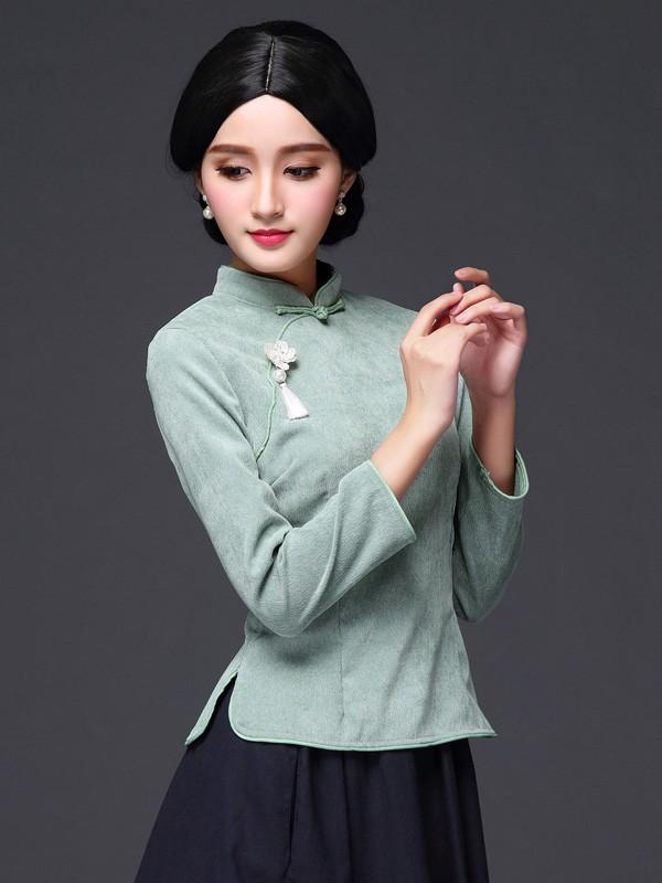 Stylish Modern Qipao / Cheongsam Blouse