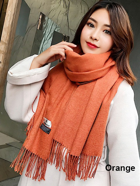 Faux Wool Women's Scarf Wrap