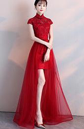 Cheongsam Wedding Dress | 2019 Chinese Wedding Qipao Wedding Cheongsam Cozyladywear