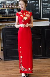 5402c88c0 2019 Custom Made Chinese Cheongsam Dress - CozyLadyWear #7