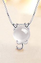 Silver Crystal 12 Constellation Zodiac Pendant Necklace